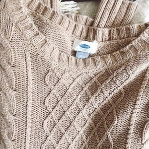 Old Navy Sweaters - Old Navy Tan Sweater